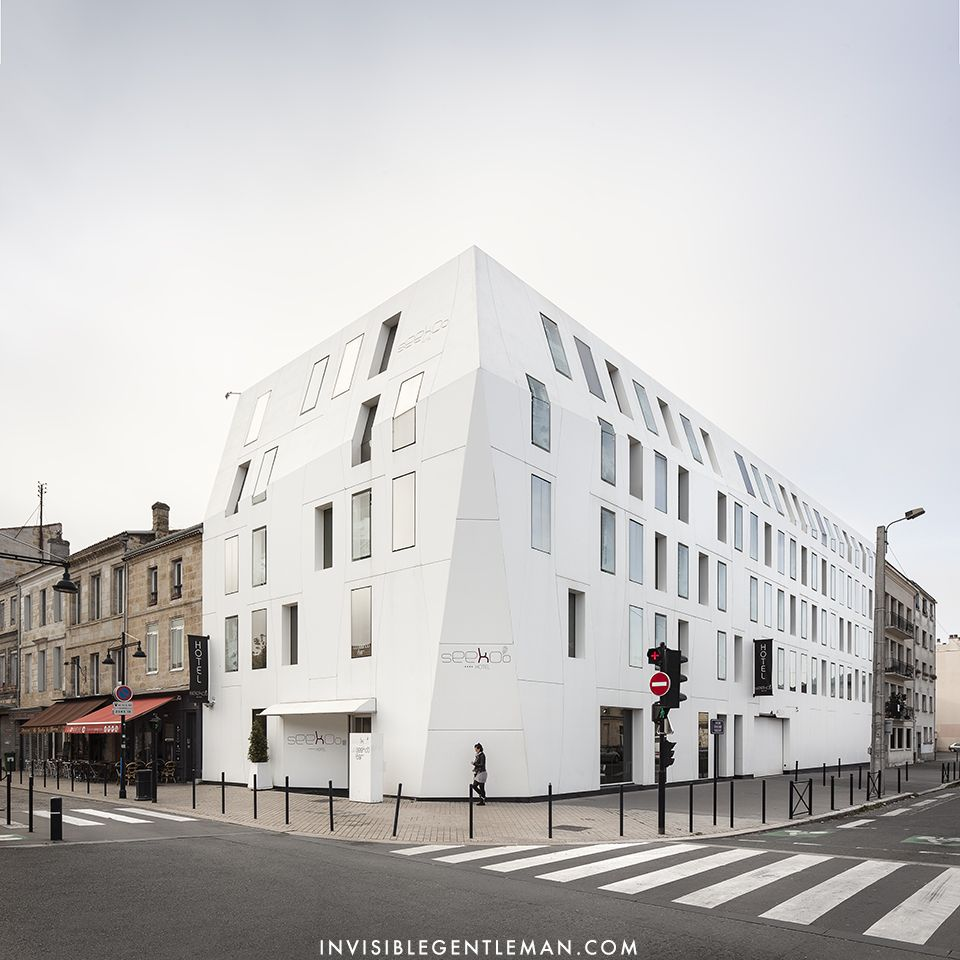HOTEL SEEKO'O | KingKong Architects | Bordeaux, France