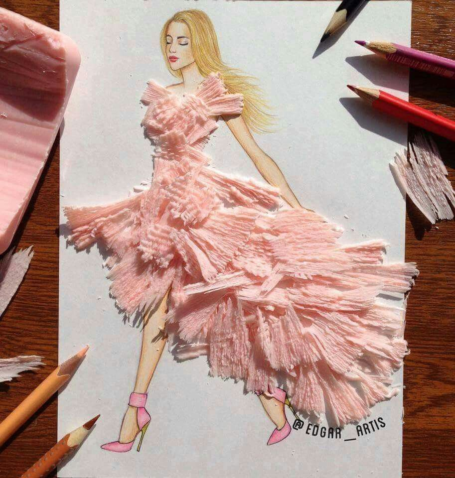 Pin de Jessica Ayala Aguiñaga en drawn fashion | Pinterest | Bocetos ...