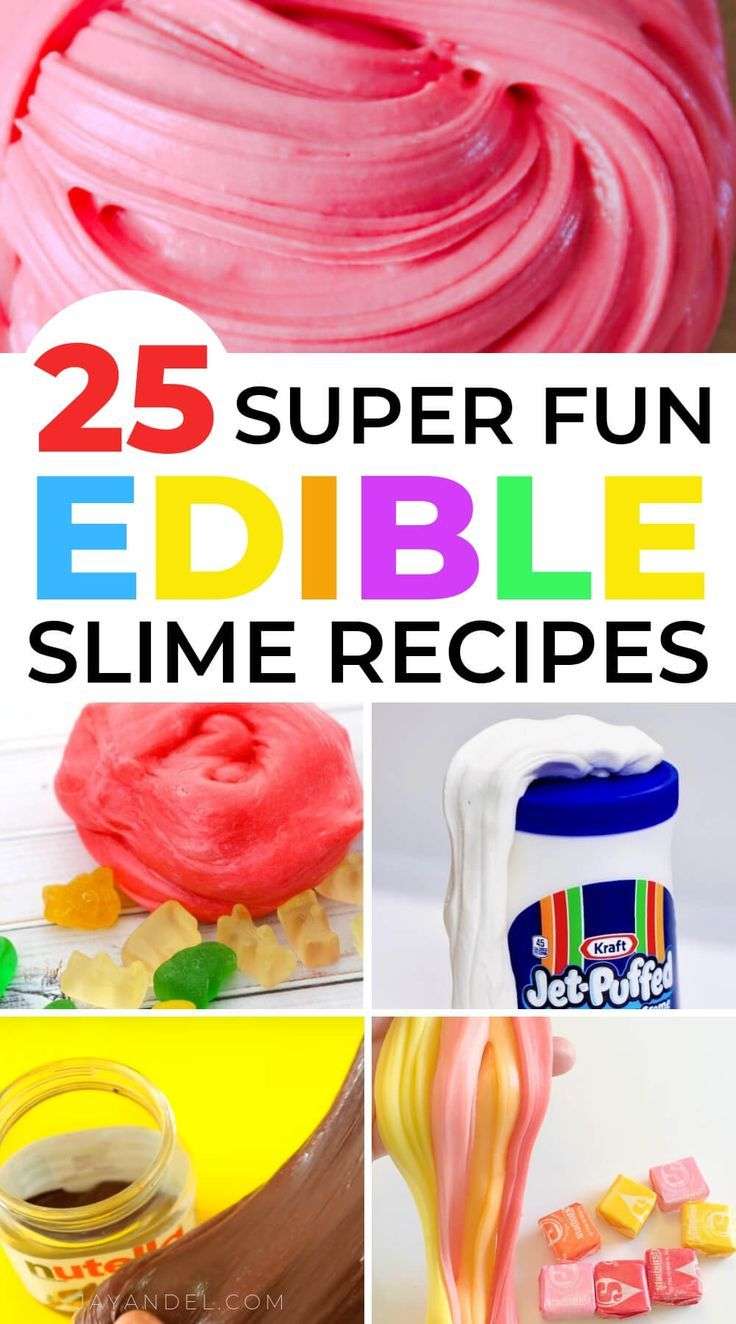 22 Awesome Edible Slime Recipes You'll Want to Make For Your Kids