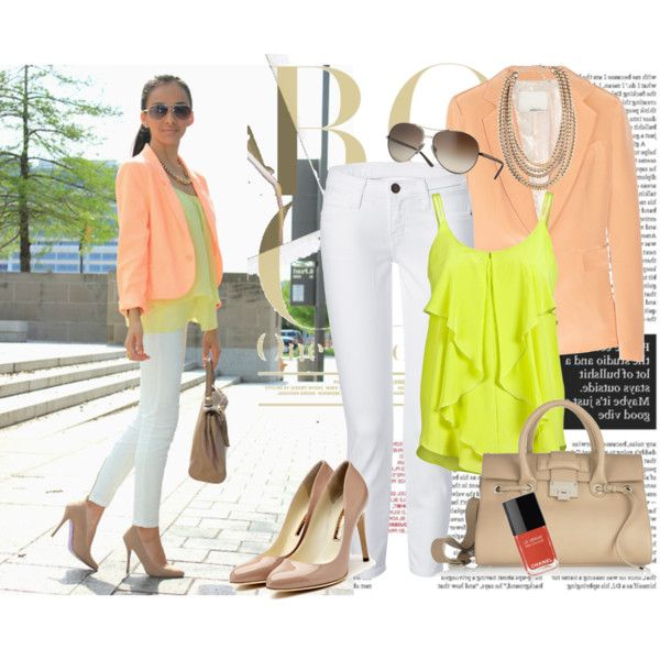 Summer Pastels, created by starlit09 on Polyvore