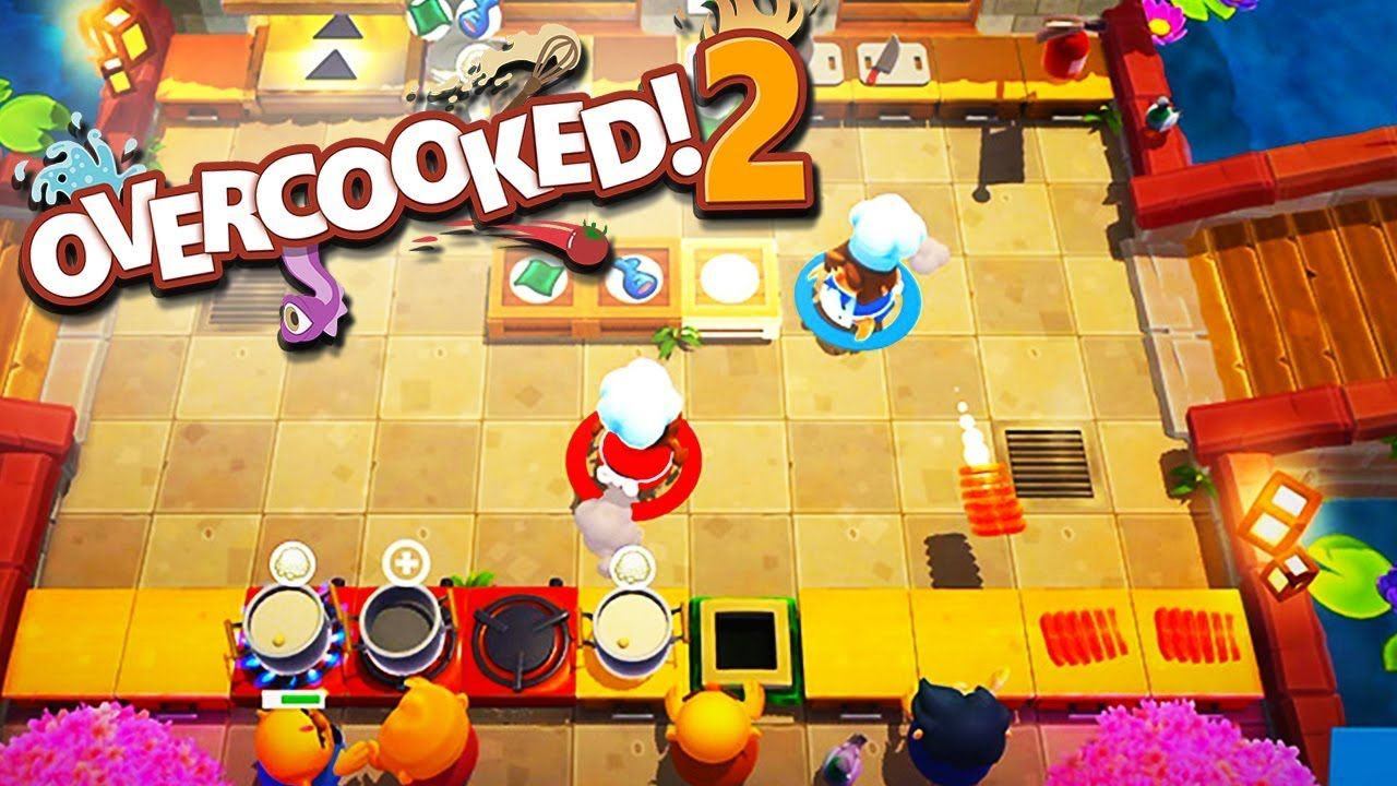 STEAMED FOOD IS LAME! Overcooked 2 with The Crew