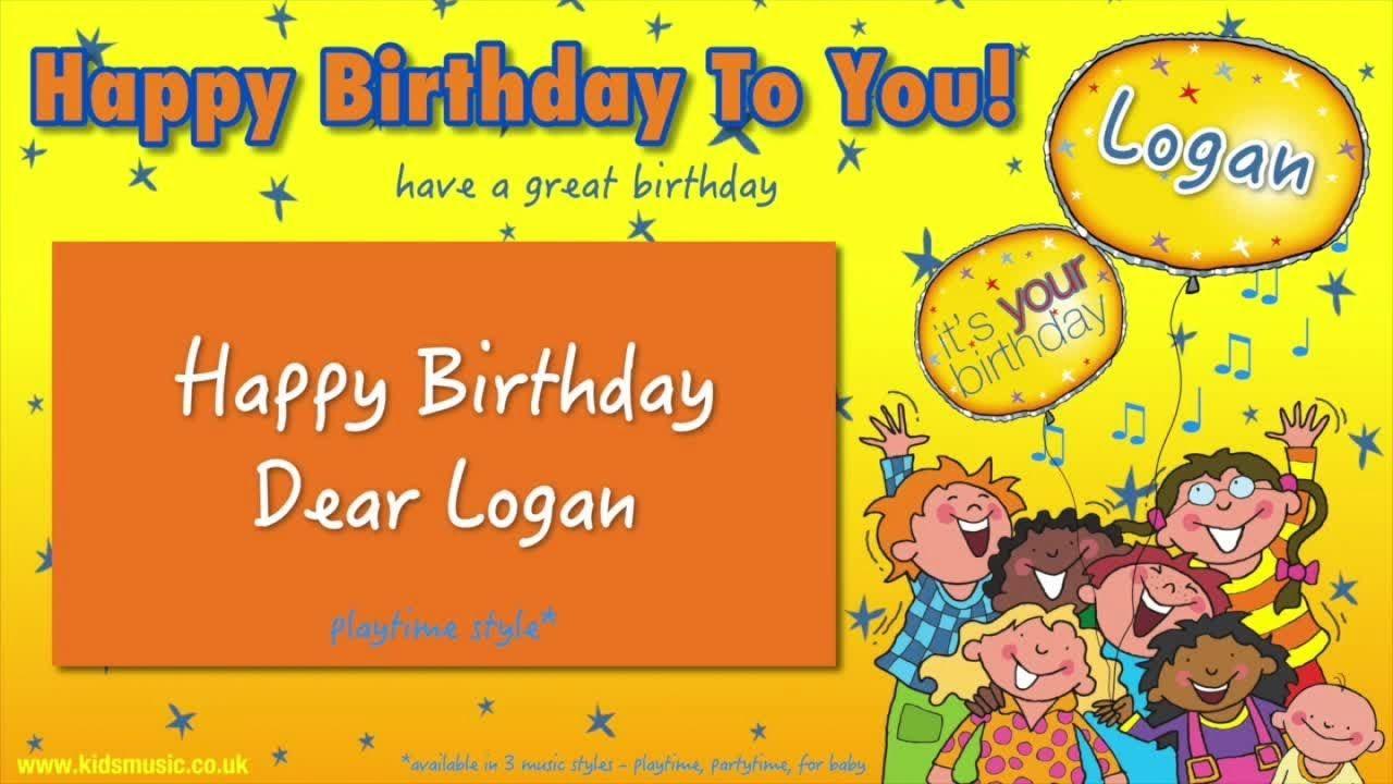 Jump Singers Happy Birthday Dear Logan For Playtime Happy