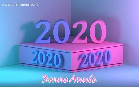 Bonne Année 2020, carte bonne année 2020, voeux bonne année 2020