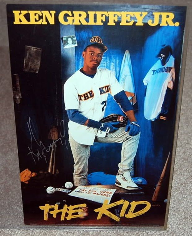 76bb9500b9 Ken Griffey Jr. Design by the Costacos Brothers. | Postermania ...