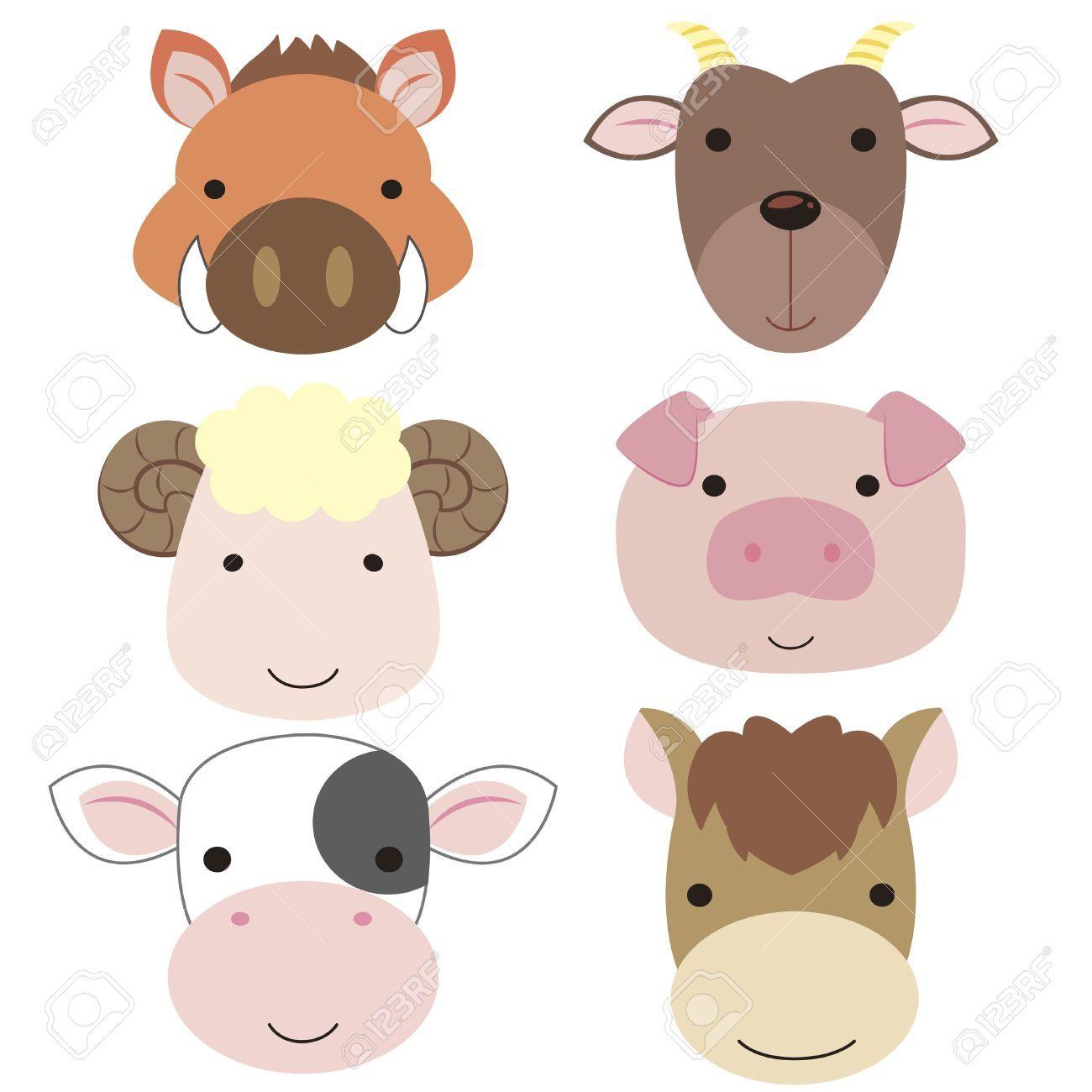 Horse Head Cartoon Cute Google Search Cartoon Animals Cute Cartoon Animals Cute Animals