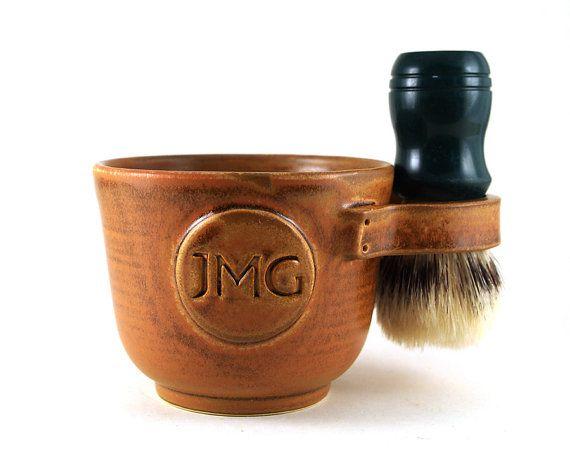 Monogram Or Initials You Decide Personalized Shaving Mug By