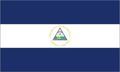Our Expertly Crafted Flags Of Nicaragua Are Unsurpassed In Color Authenticity And Craftsmanship The Designs Are International Flags Flag Sizes Missions Trip