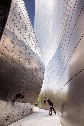 Squarespace Claim This Domain Urban Engagement Photos Los Angeles Engagement Walt Disney Concert Hall