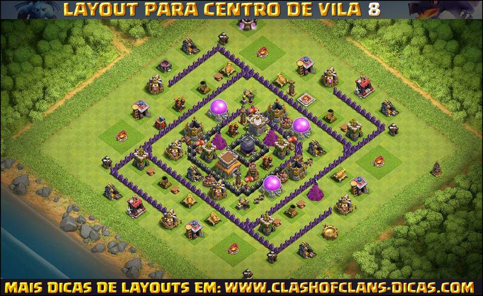 layouts para centro de vila 8 com torre de bombas leyalts pinterest