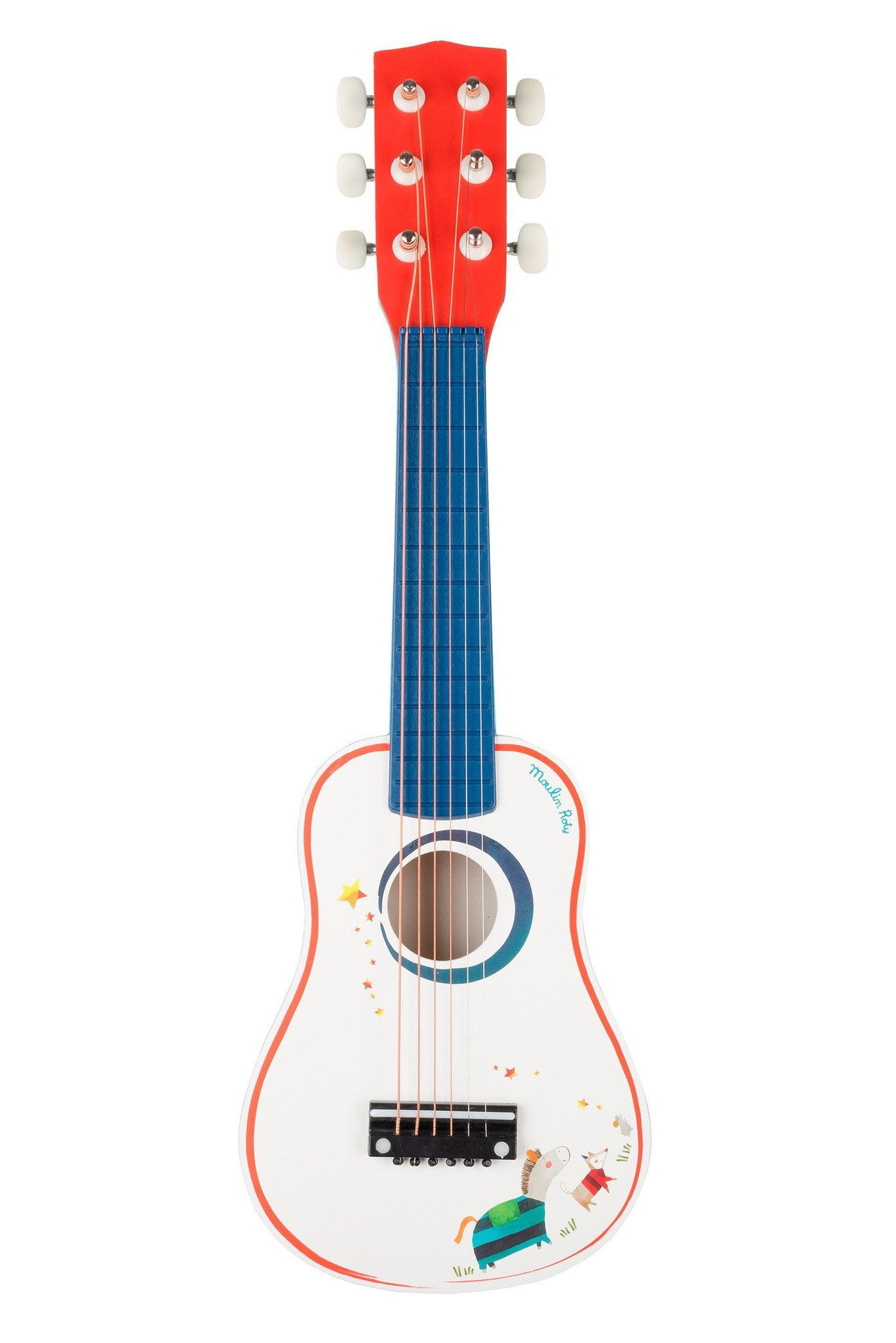 Les Zig Et Zag Guitar By Moulin Roty