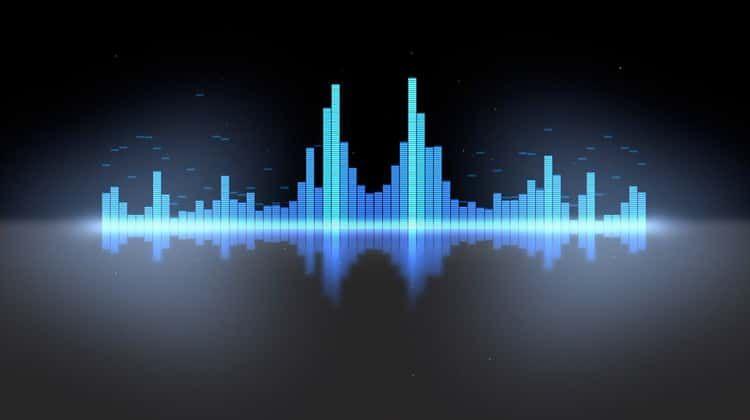 Equalizer vu meters modern audio 2 styles loop on vimeo