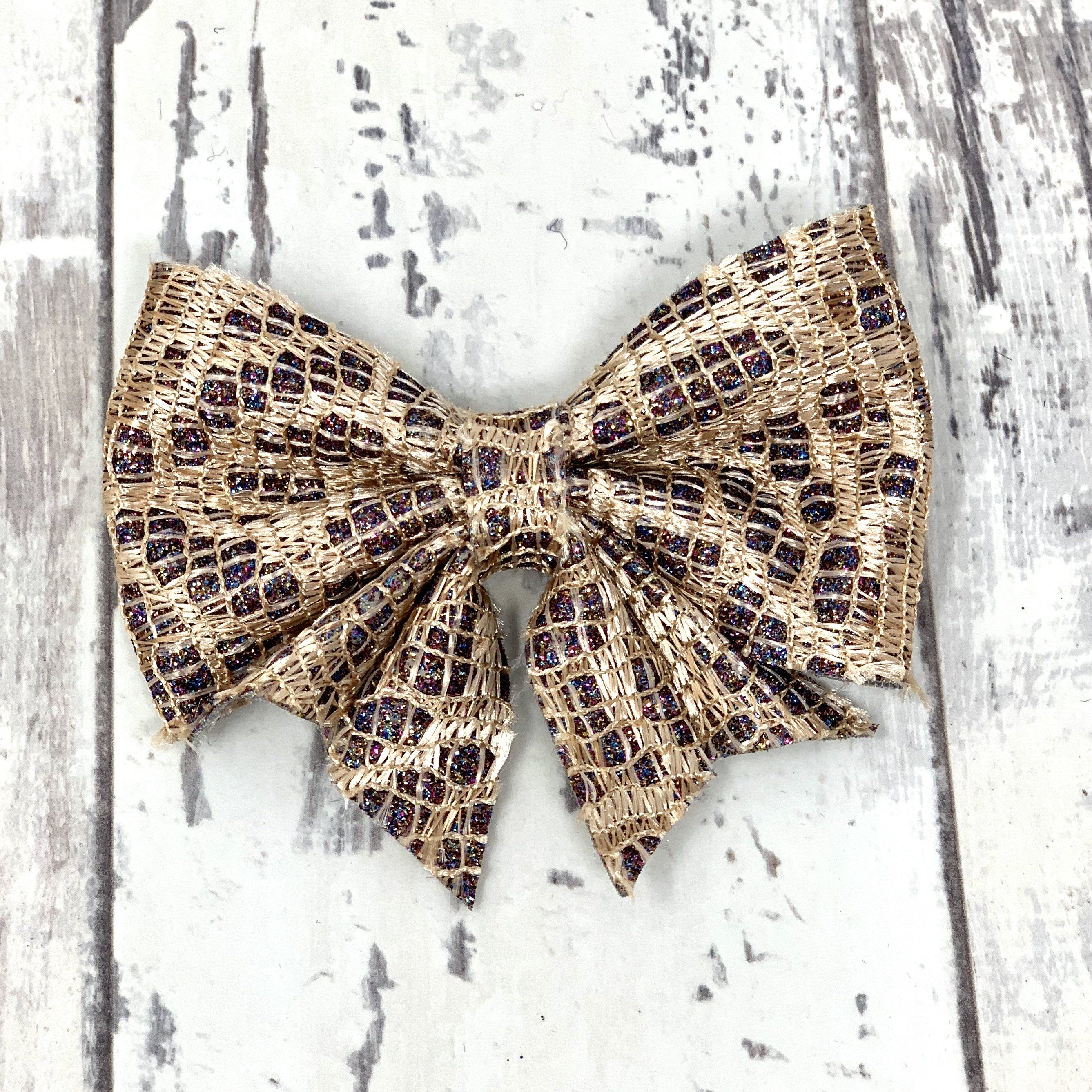 3503622eefd6 Glitter Laced Lucy Bow | Products | Bows, Handmade shop, Lace