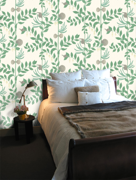 Secret Garden Garden Bedroom Wallpaper Home Decor