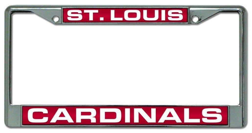 St. Louis Cardinals Laser Cut Chrome License Plate Frame | cars ...