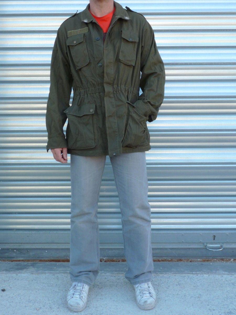 Veste treillis femme militaire