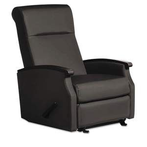 La Z Boy Contract Florin Collection Room Saver Sofa Recliner Black Vinyl Room Saver Recliner Chair
