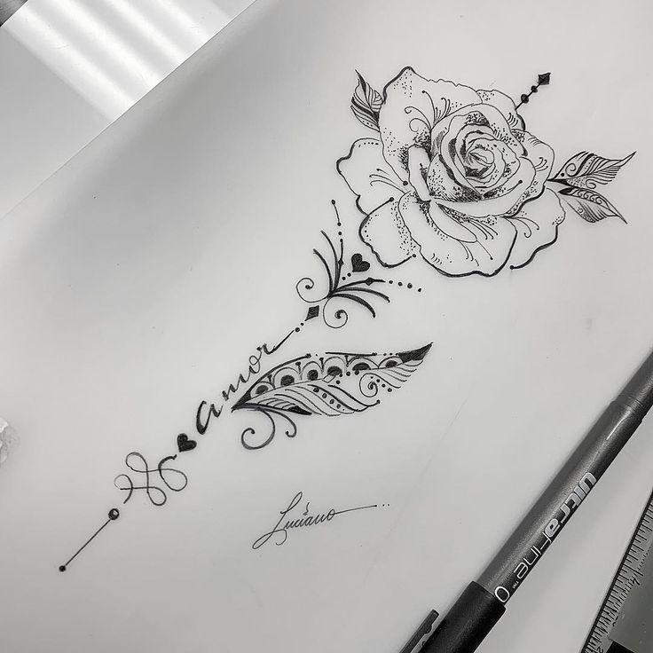 Photo of 30 beliebtesten Handzeichnung Tattoos im Jahr 2019   #flowertattoo,  #beliebtesten #flowertat… 30
