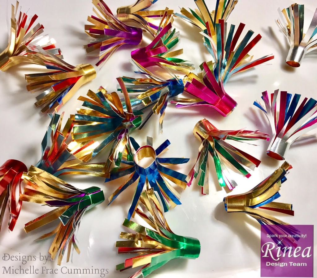 christmas tree light reflectors by michelle