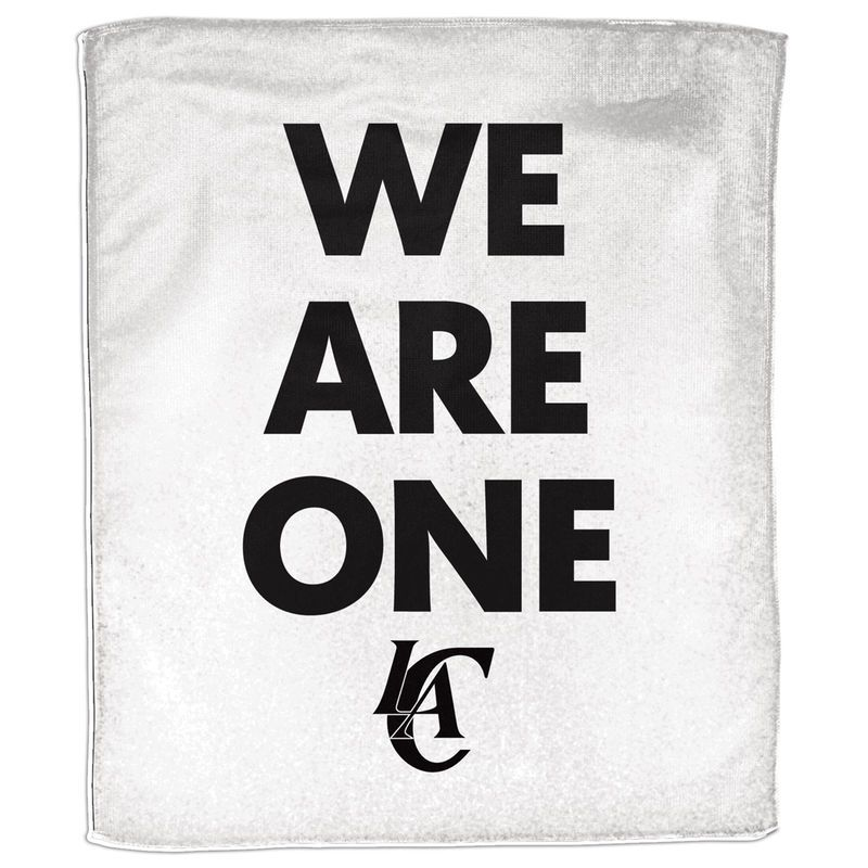 """La Fitness With Towel Service: LA Clippers WinCraft We Are One 15"""" X 18"""" Rally Towel"""
