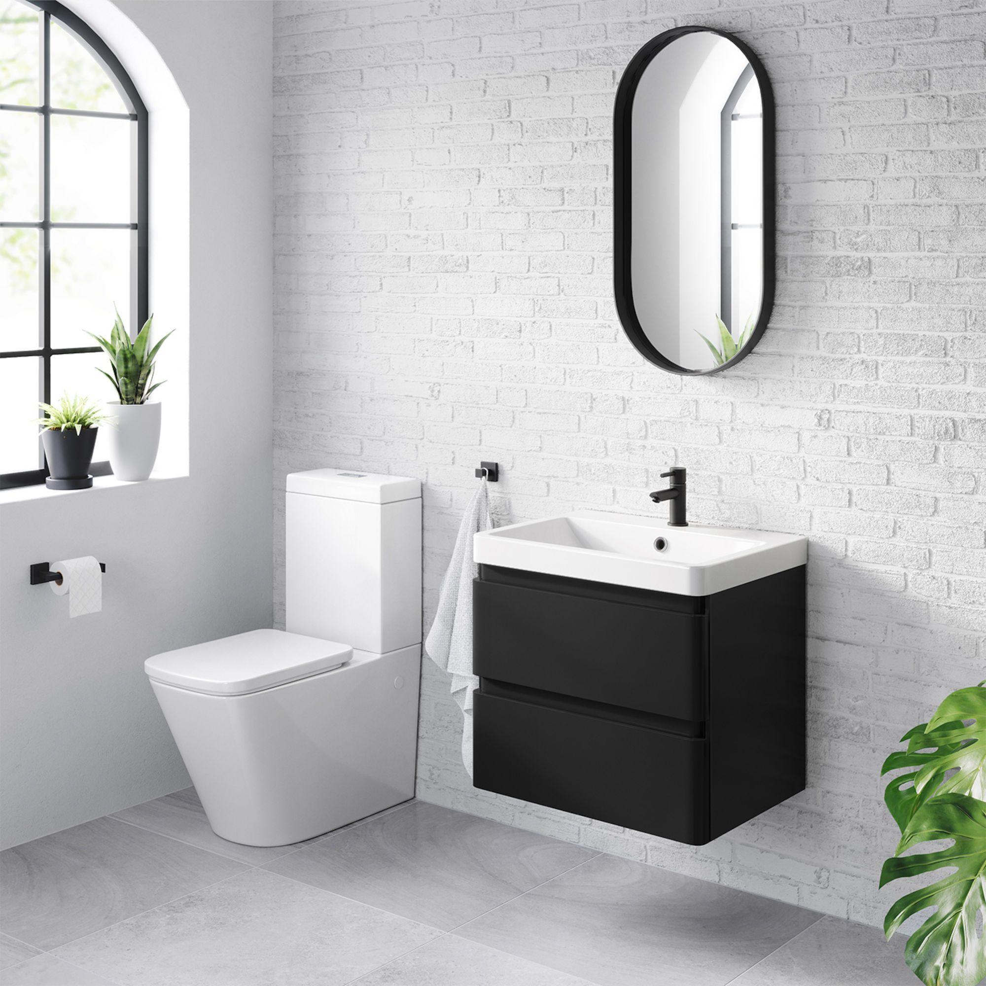 Black Vanity Unit With Drawers Black Bathroom Vanity Sink Soak Com Bathroom Vanity Trends Black Bathroom Black Vanity Bathroom