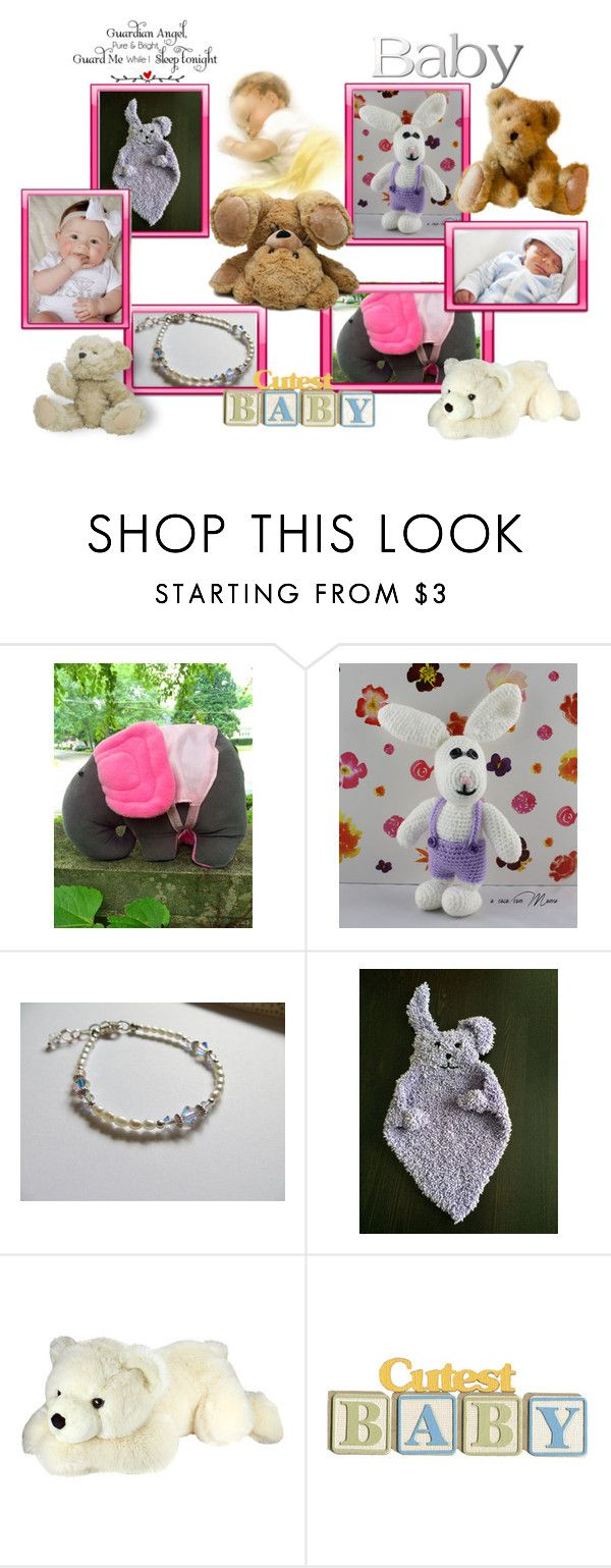 """""""For Baby"""" by cozeequilts ❤ liked on Polyvore featuring WALL"""