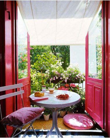 15 idées pour aménager un petit balcon avec jardin | Plantes ...