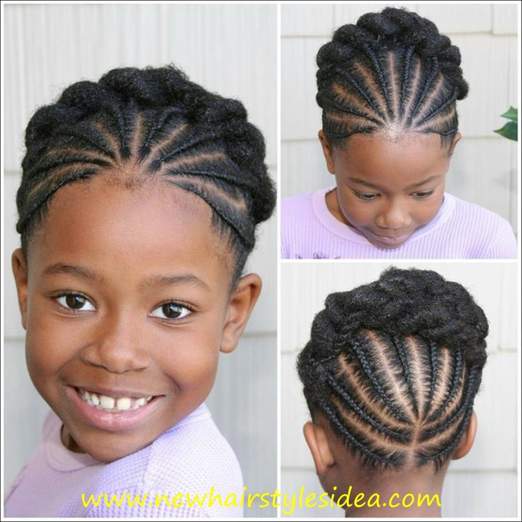 Black Kids Hairstyles Custom Hairstyles For Black Kids 14 …  Little Girl Hairstyles