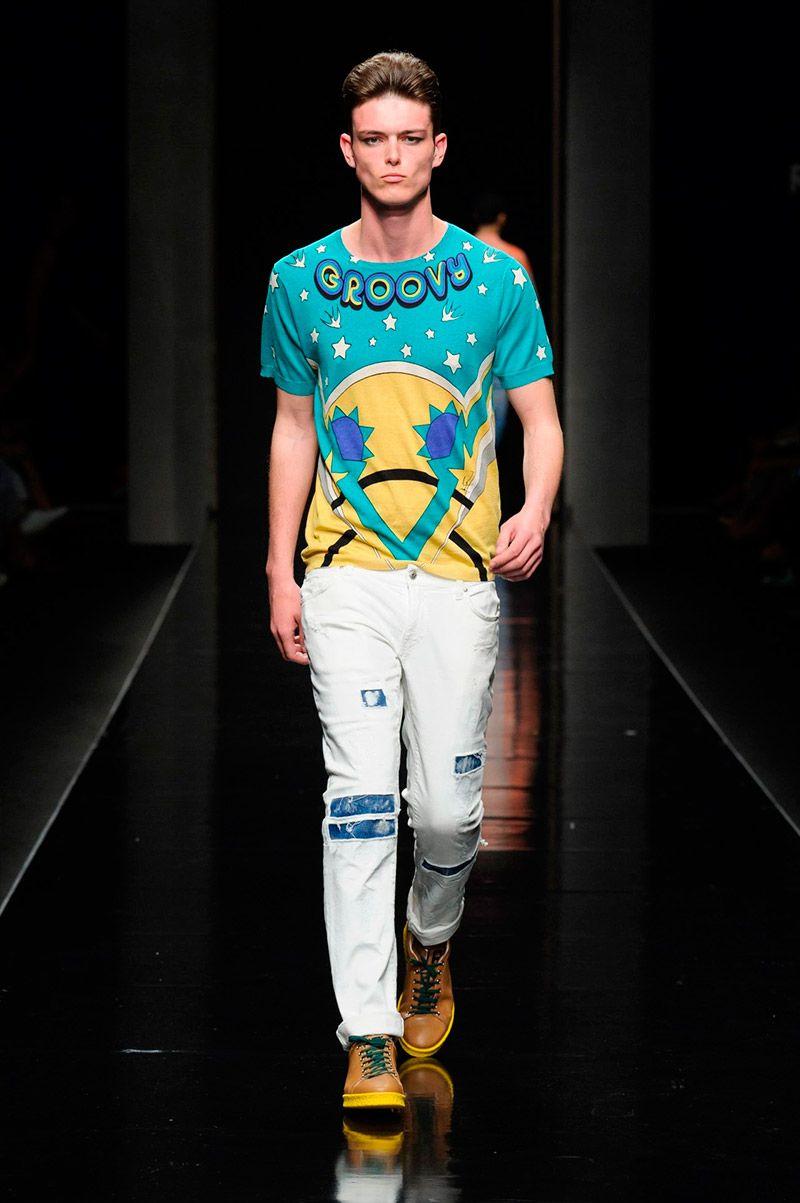 John Richmond Spring Summer 2016 Primavera Verano #Menswear #Trends #Tendencias #Moda Hombre - Milan Fashion Week - F.Y!