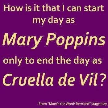 Mary Poppins to Cruella de Vil
