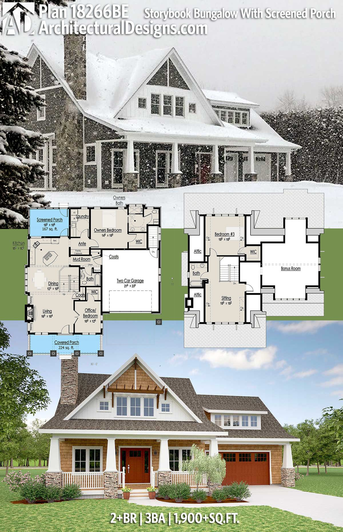 Architectural Designs House Plan 18266BE Comes To