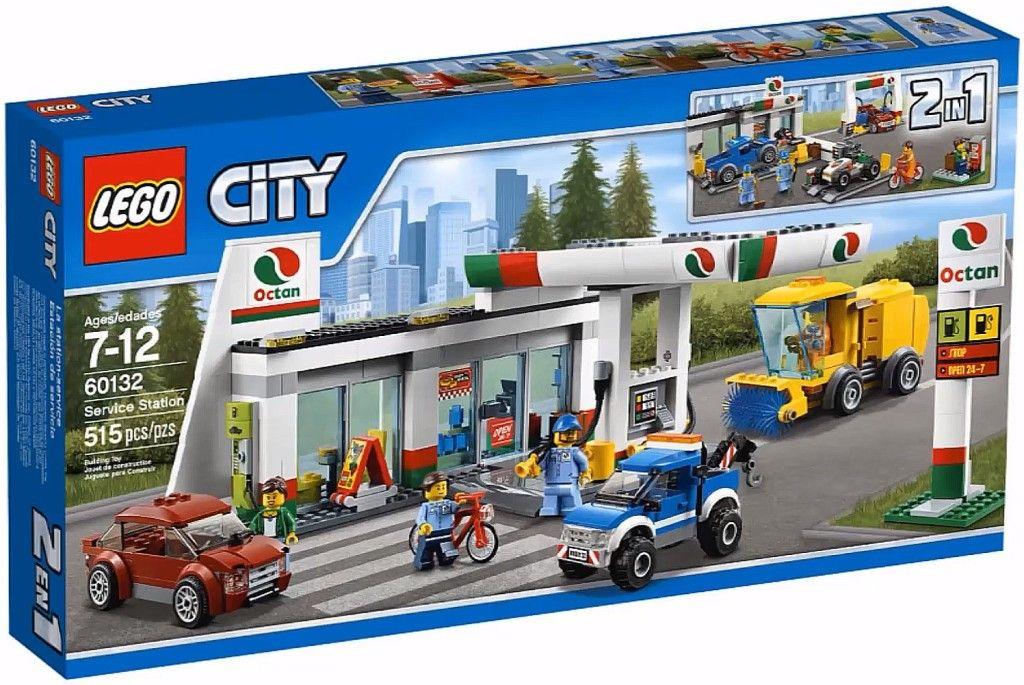 Lego City Summer 2016 Sets Official Images Lego City Lego City Sets Service Station