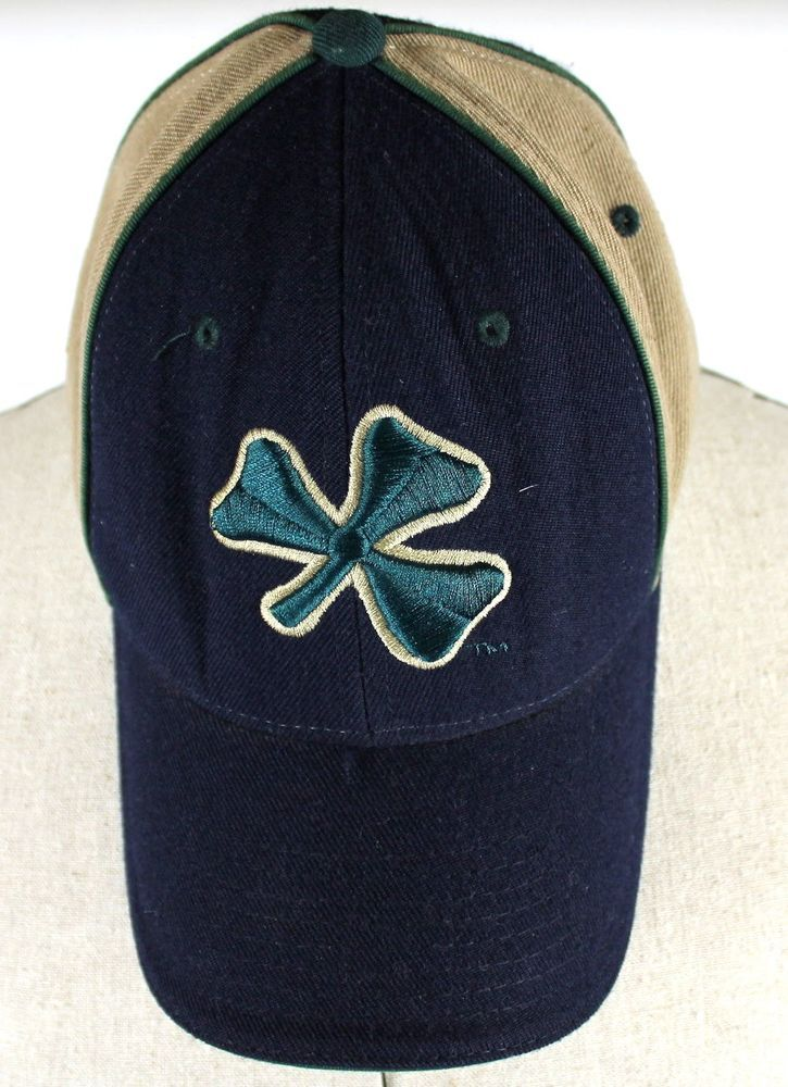 171ec69d9b15d Notre Dame Fighting Irish 4 Leaf Clover Fitted