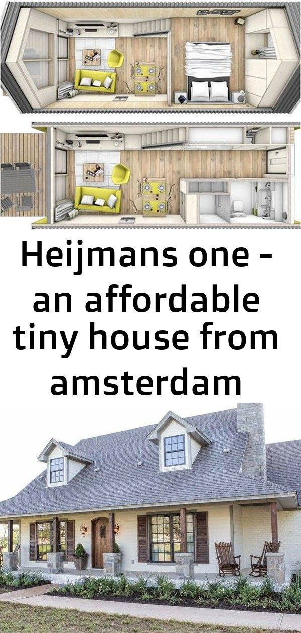 Heijmans one - an affordable tiny house from amsterdam #barndominiumideas