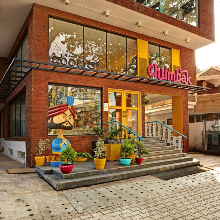 Chumbak Store By 4D Bangalore India Retail Design Blog