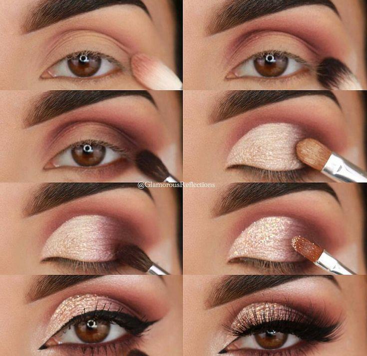 60 Einfache Augen Makeup Anleitung für Anfänger Schritt für Schritt Ideen (Au...