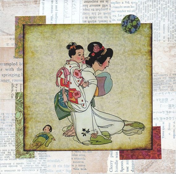 Hey, I found this really awesome Etsy listing at https://www.etsy.com/listing/195085930/altered-vintage-print-japanese