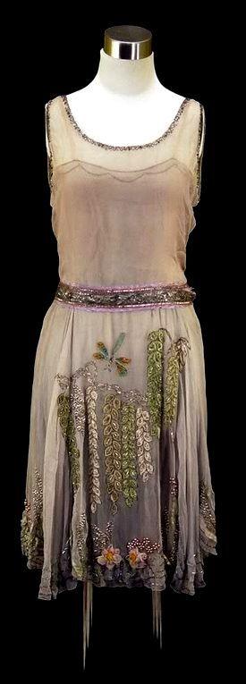 1920's beaded party dress