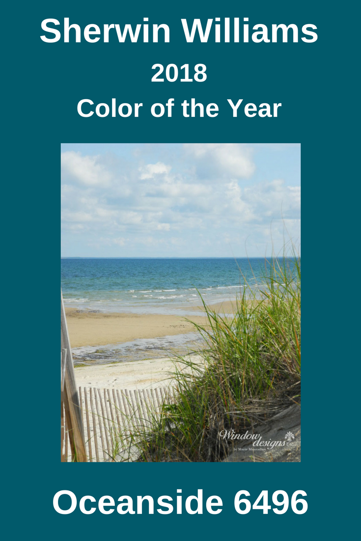 Sherwin Williams Oceanside 2018 Color Of The Year Front Door Colors Door Color Oceanside