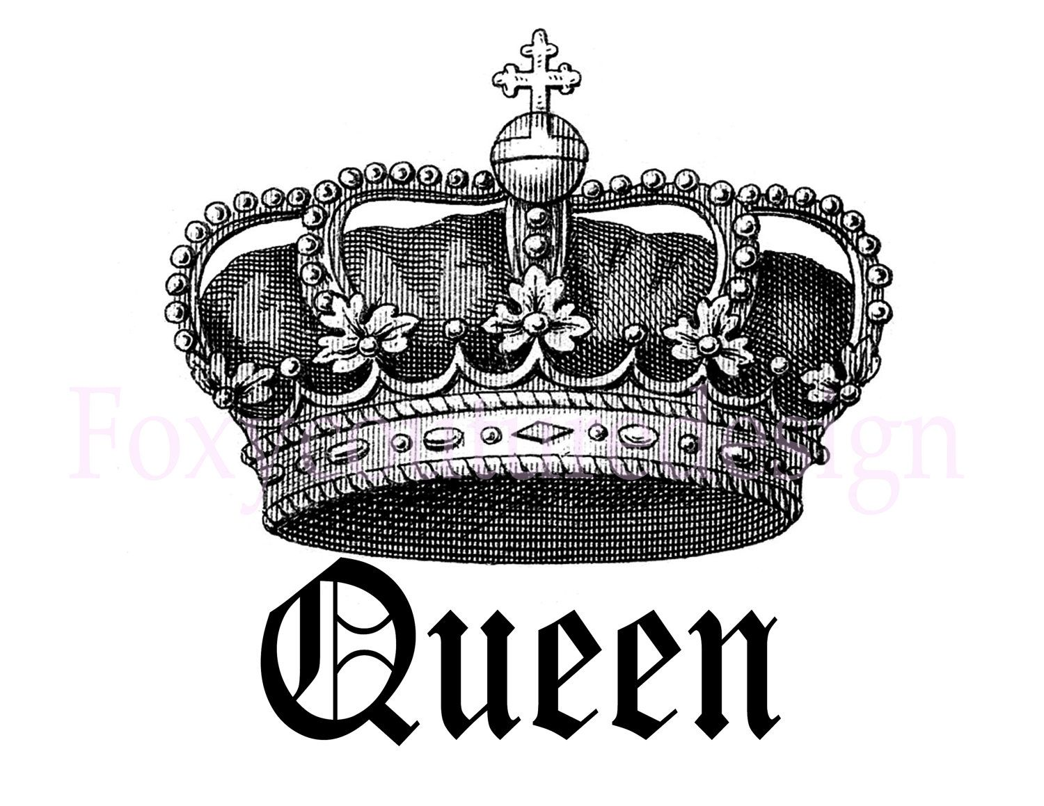 Crown tattoo on tumblr - Use The Form Below To Delete This Black And White King Crown Clip Art Image From