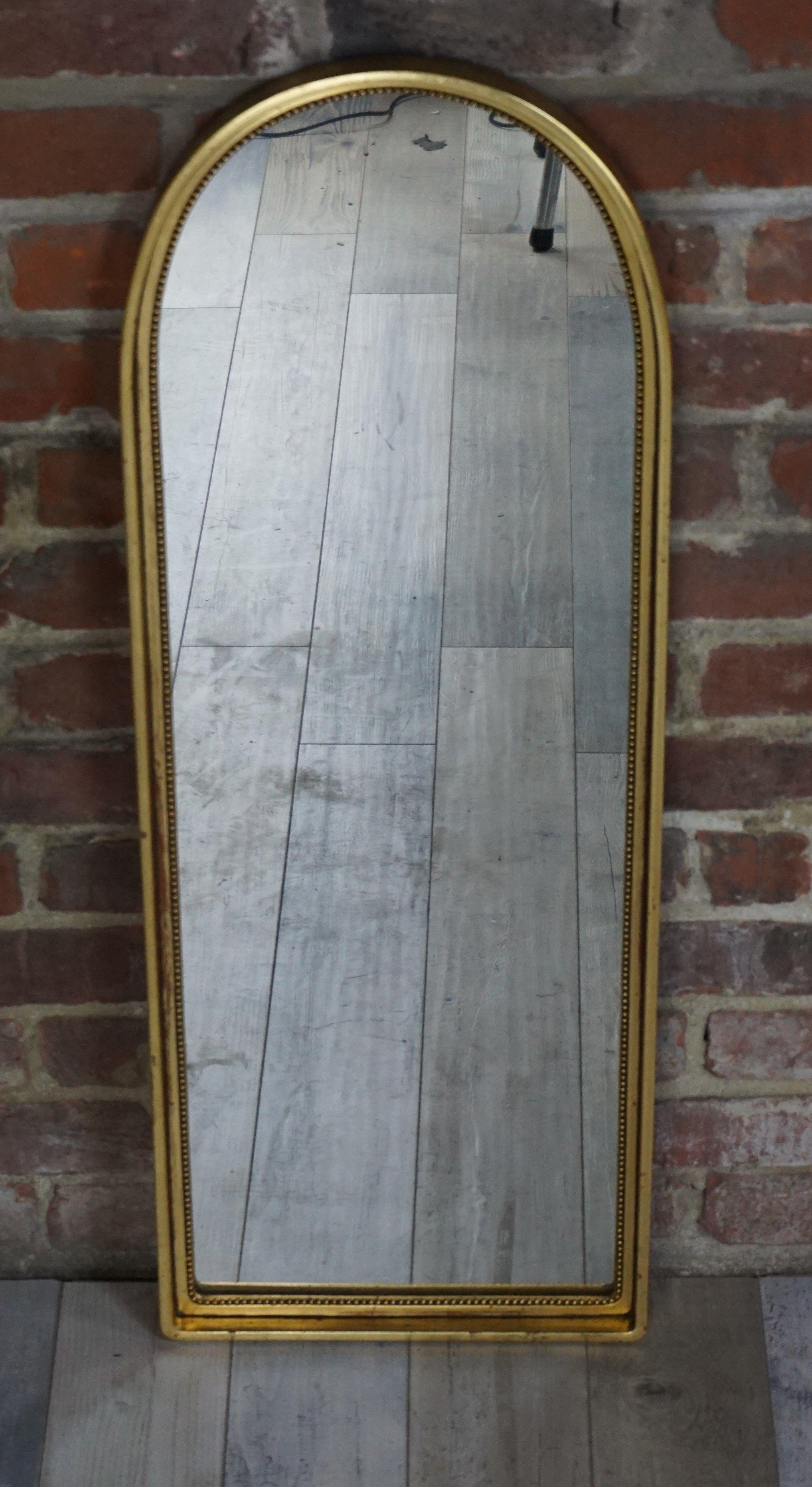 Grand Miroir Ancien En Arcade Miroirs Anciens Grand Miroir Miroir