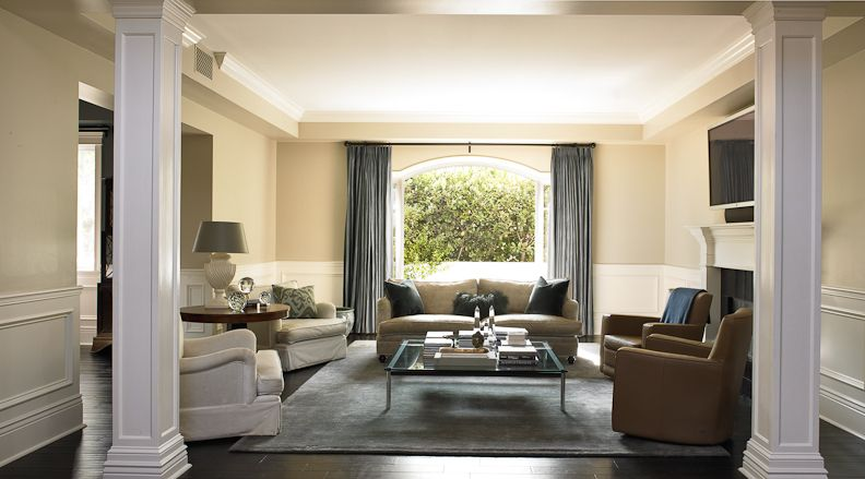 Beautiful Traditional Living Room Get The Look With Dunn Edwards