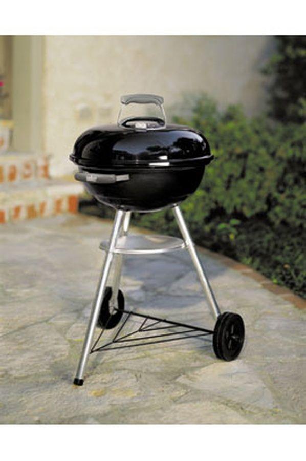 compact kettle 47 cm noir jardins et potagers barbecue bbq et kettle. Black Bedroom Furniture Sets. Home Design Ideas