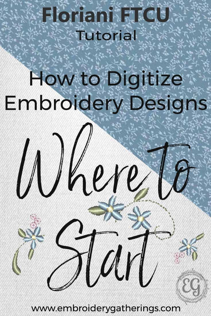 Where To Start With Floriani Ftcu Beginners Tutorial Embroidery
