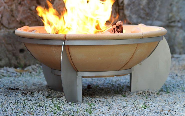 Feuerschale Gartenkeramik Einmal Anderst Gesehen Bei Http Www Denk Keramik De Feuerschalen Feurio Feurio Feuerschale Html Outdoor Decor Outdoor Fire Pit
