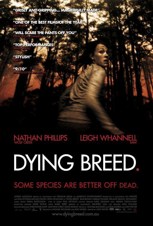 Another really good Ozzie horror based on Australian history.