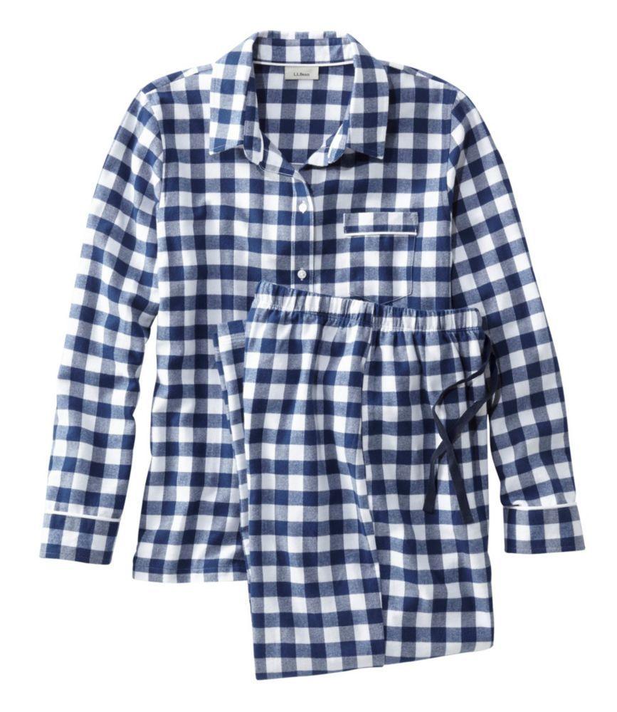 e7ee69451f L.L.Bean Flannel Pajama Set