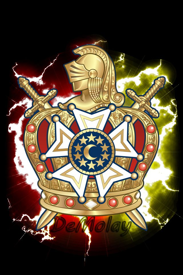 Smartphone Demolay Wallpaper By F0rm1r Masonic Pinterest