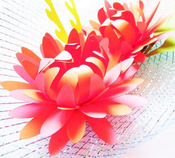 Easy paper flower template tutorial chrysanthemum paper flowers diy easy paper flowers diy paper flower by catchingcolorflies mightylinksfo Gallery