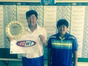 Park brothers FCWT junior golf Heron Bay 2015