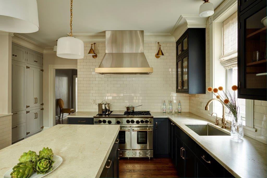 Mohawk {Chicago Residence} Navy | Kitchen remodel ...